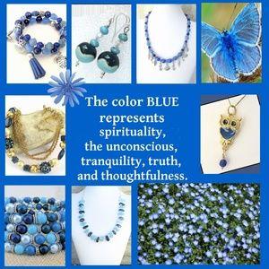 Keep Calm and Wear Blue!